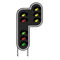 Signaux-cible 8 feux de signalisation en modélisme ferroviaire HO