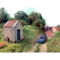 moulage chapelle decor modelisme ferroviaire