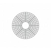 Grille d'arbre circulaire radial pour le décor en modélisme HO